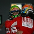 Race, Fernando Alonso (ESP), Scuderia Ferrari, F10 race winner and Felipe Massa (BRA), Scuderia Ferrari, F10 3rd position