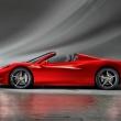 la prima berlinetta posteriore-centrale al mondo con capote rigida, La presentazione ufficiale al Salone di Francoforte  Lunghezza 4527 mm, Larghezza 1937 mm, Altezza 1211 mm, Passo 2650 mm, Peso a secco 1430 kg *. Rapporto peso/potenza 2,51 kg/CV, Distribuzione pesi (ant/post) 42%/58%  Motore Tipo V8 – 90°,  Cilindrata totale 4499 cc, Potenza massima 570 CV (425 kW)** a 9000 giri/min, Coppia massima 540 Nm a 6000 giri/min, Potenza specifica 127 CV/l, Rapporto di compressione 12,5:1  Velocita massima >320 km/h, 0-100 km/h <3,5 s  Consumi carburante*** 11,8 l/100 km, Emissioni*** 275 g CO2/km  *Allestimento con Cerchi Forgiati e Sedile Racing  **Inclusi 5 CV da sovralimentazione dinamica  ***Ciclo combinato ECE+EUDC