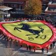 1A_13 Novembre 2011 Maranello, Via Abetone ore 10,00. Presentazione Ufficiale  Maxi Scudetto Ferrari da parte della S.F.C. Caprino Bergamasco.